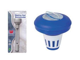 Traitement d'eau - Kit comprenant Diffuseur de chlore flottant + Thermom�tre