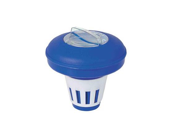 Traitement d 39 eau diffuseur de chlore flottant 27531 for Accessoire piscine 16