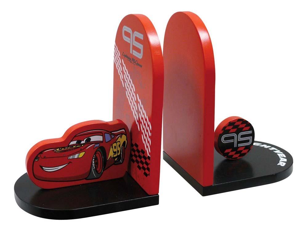 serre livres enfant en laqu cars rouge et noir 53466. Black Bedroom Furniture Sets. Home Design Ideas