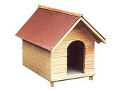 "Niche chien""n°5"" shingles - 72 x 100 x 90 cm"
