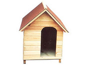 "Niche chien ""n°7"" shingles - 82 x 118 x 113 cm"