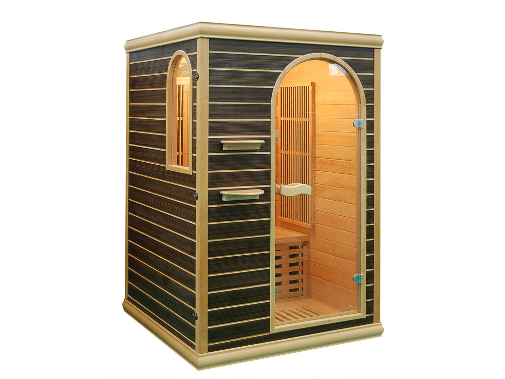 Cabine de sauna infrarouge esl v 2 places 120 x 120 for Cabine sauna exterieur