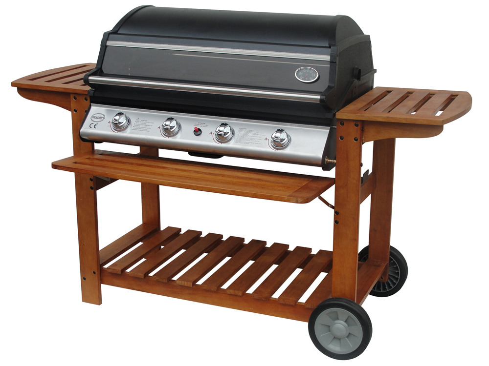 barbecue gaz chicago 4 br leurs 16 4 kw plancha. Black Bedroom Furniture Sets. Home Design Ideas