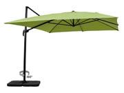 "Parasol jardin d�port� Alu ""Sun 4"" - Rectangle- 3 x 4 m - Vert"