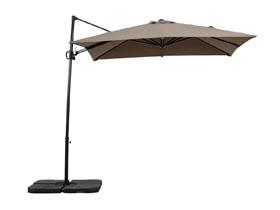Parasol jardin d�port� Alu