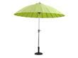 "Parasol jardin droit Alu ""Lili""- Ø2.7m - Vert anis"