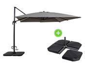 parasol jardin. Black Bedroom Furniture Sets. Home Design Ideas