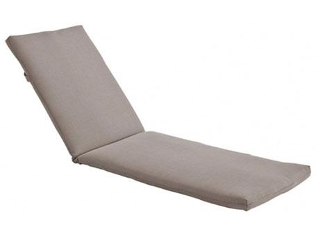 Coussin coloris gris pour Bain de soleil en bois exotique