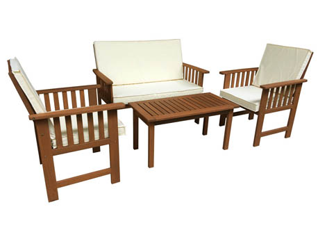 Salon de jardin bois - Salon de jardin bois et resine ...