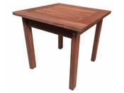 """Table basse en bois exotique """"Tokyo"""" - Mahogany - Marron acajou"""