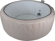 SPA GONFLABLE CANNE EN PVC - 4 PLACES - BEIGE