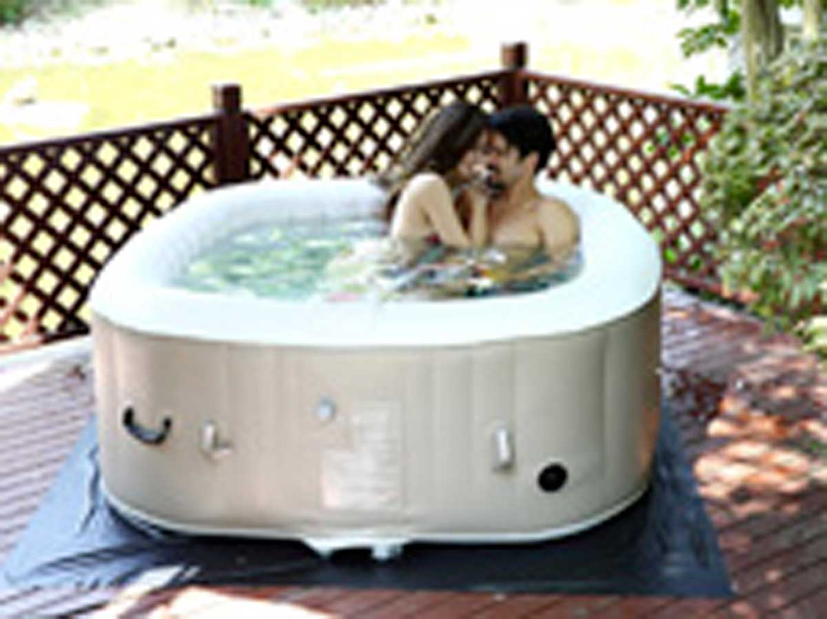Spa gonflable - Spa gonflable avec led ...