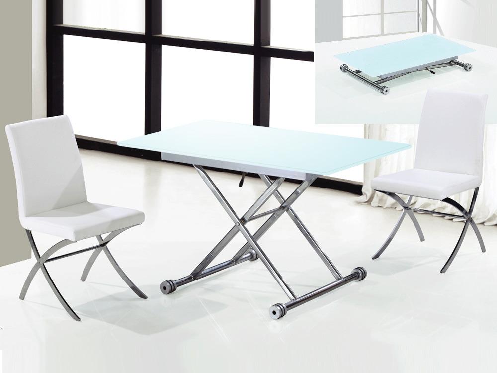 Table Repas Nov 120 X 70 X 75 5 Cm Blanc 53864