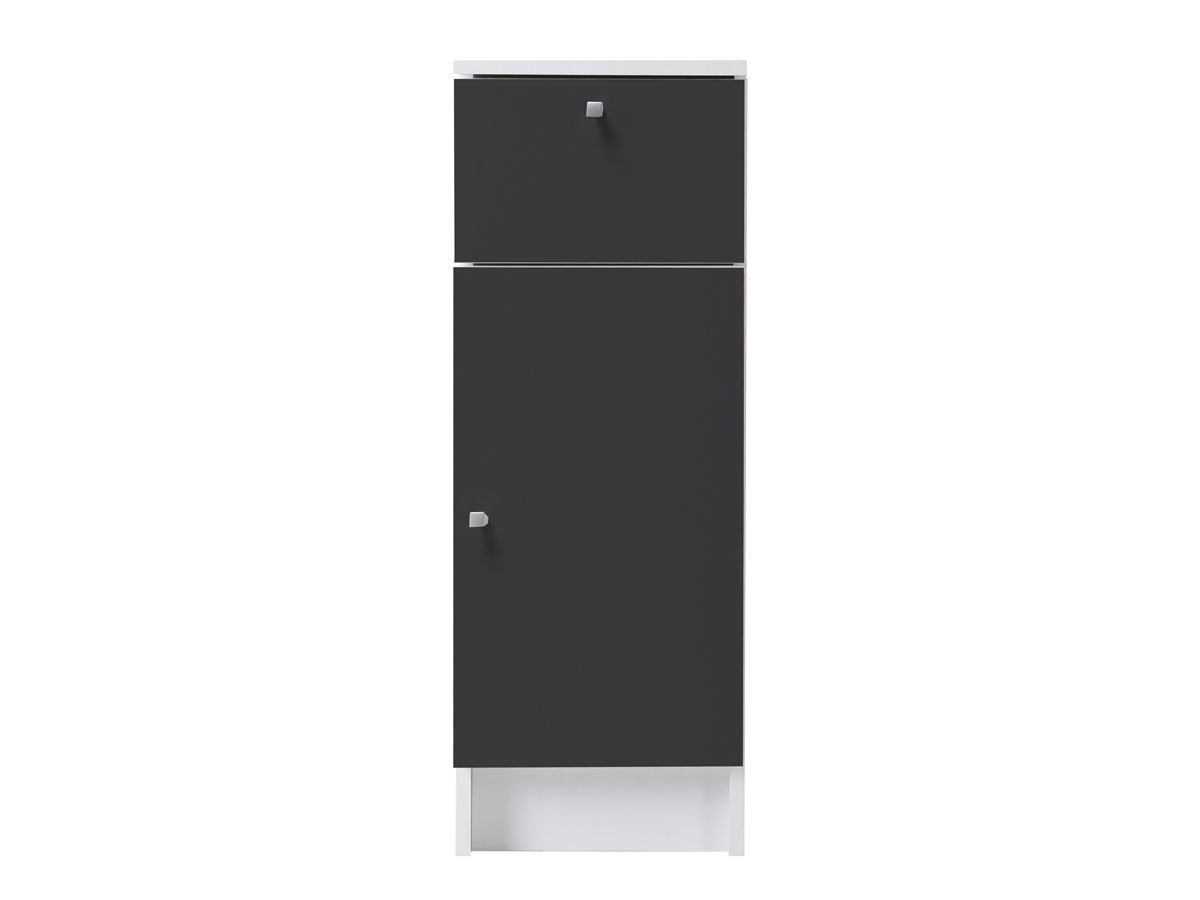 Meuble de salle de bain bas Deko anthracite 29 cm 52947
