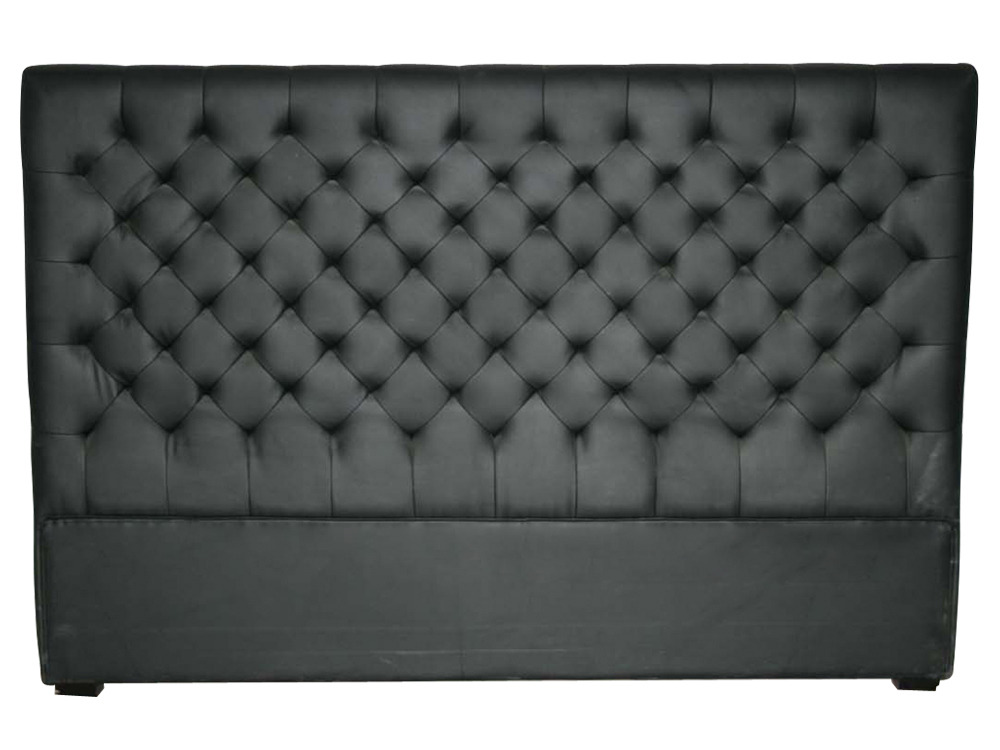 tete de lit chesterfield. Black Bedroom Furniture Sets. Home Design Ideas