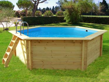 Mobilier de jardin et univers de la piscine habitat et for Piscine bois cordoue