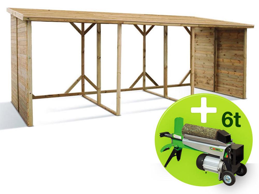 abri b ches triple 11 44 m x x m 10. Black Bedroom Furniture Sets. Home Design Ideas