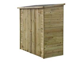 Abri jardin bois adossable