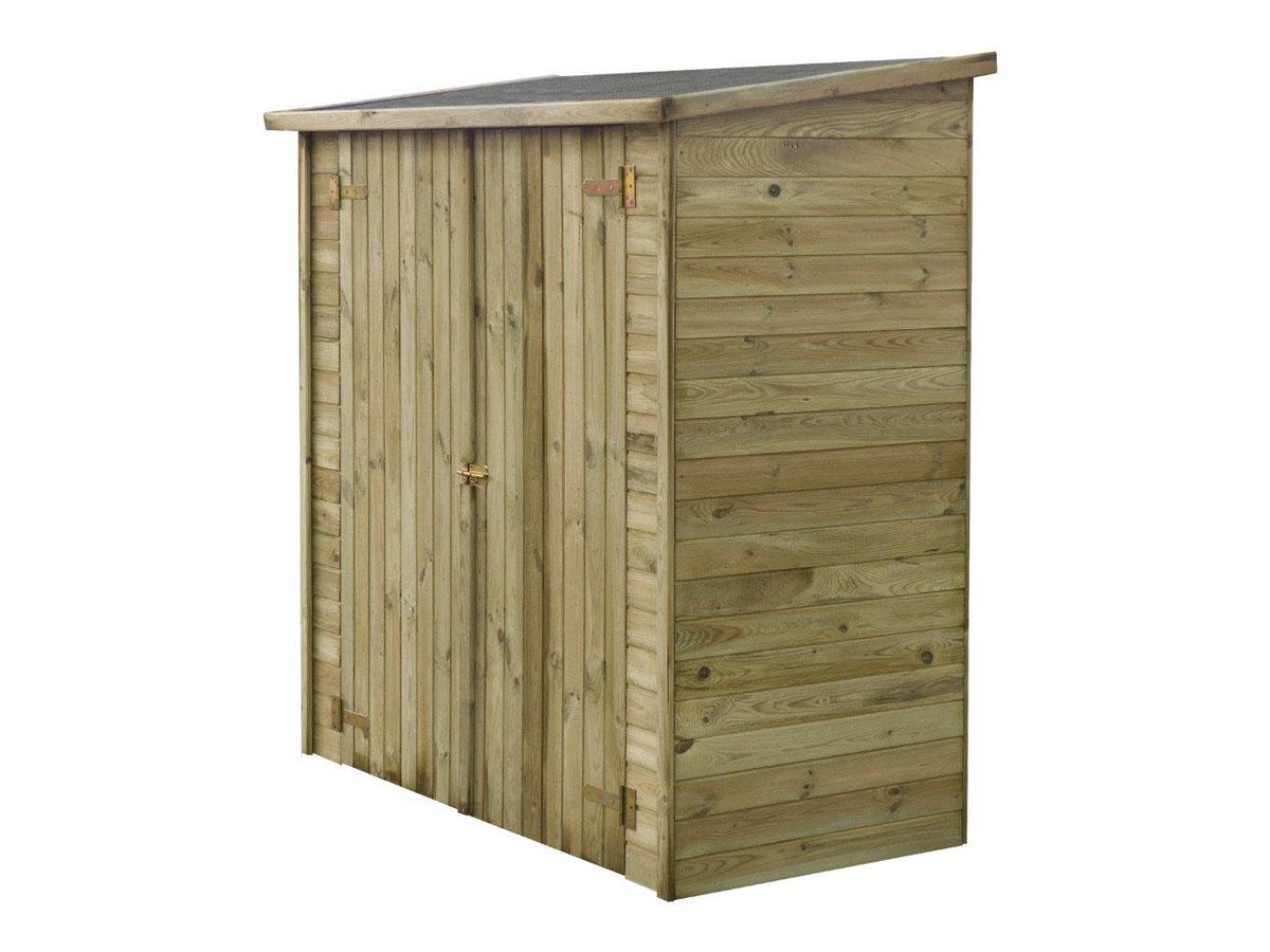 Abri jardin bois adossable lipki x x 1 85576 85578 for Abri de jardin bois traite autoclave