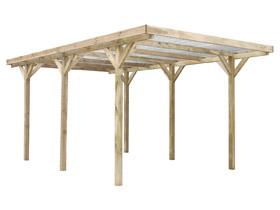 Carport voiture toiture PVC