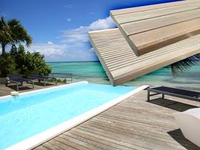 Lames de terrasse en bois  Autoclavé - 10.16 m²
