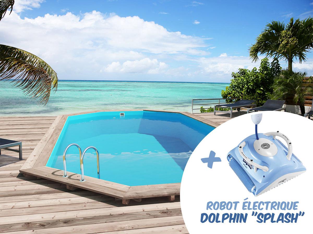 Piscine bois sao paulo x x robot for Avis robot piscine dolphin