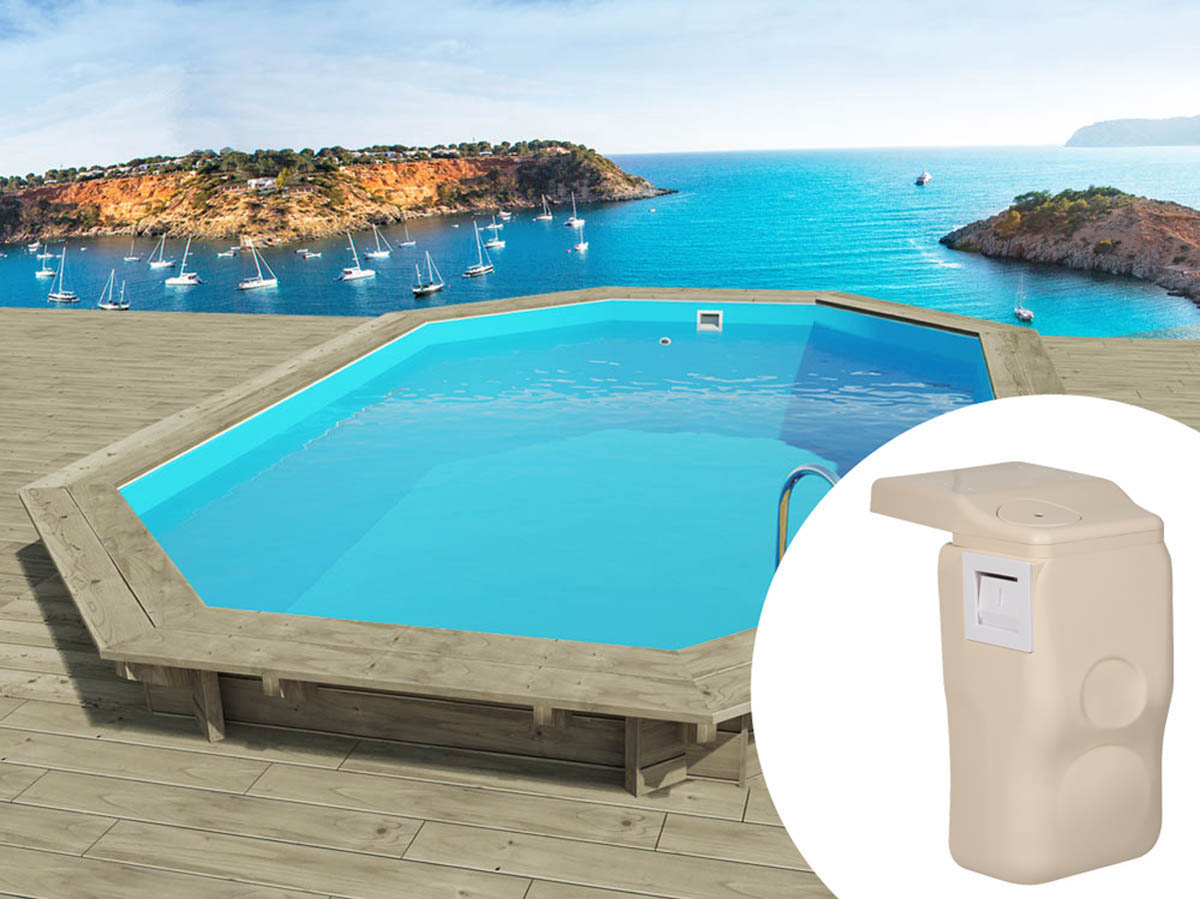 Piscine bois miami x x m kit hors for Piscine kit en bois