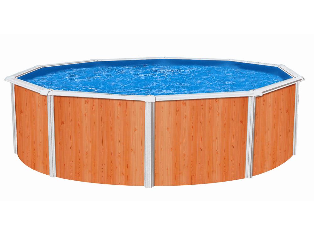 Piscine acier en kit clipper x m 33784 for Liner piscine 3 60 1 20