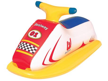 """Jeux piscine - Bouée gonflable forme Jet Ski """"Race Rider"""" - 89 x 46cm"""