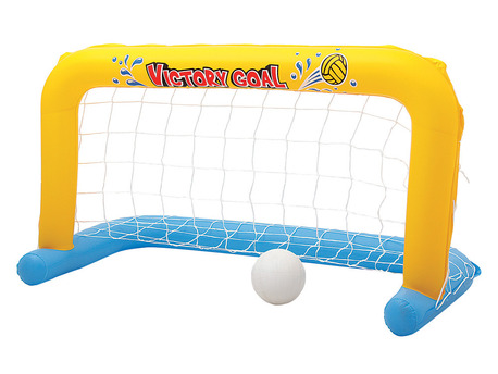 Jeux de piscine - But gonflable de Water Polo - 137 x 66 x 72 cm