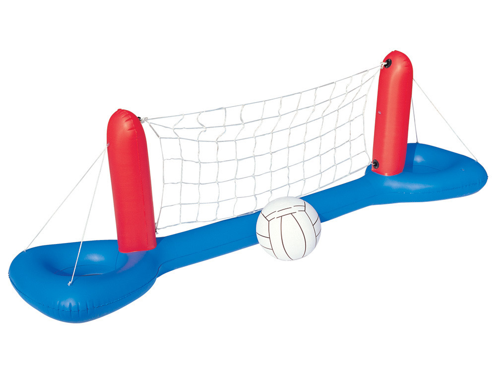 Filet de volley ball gonflable 244 x 64 x 76 cm 55112 - Filet volley piscine ...