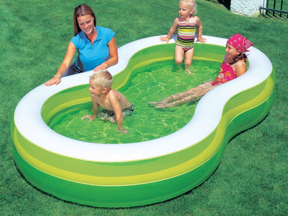 Piscine en huit 2 boudins green lagoon 274 x 157 x for Piscine sevylor en huit