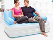 Canapé-lit 5en1 gonflable - 2 places