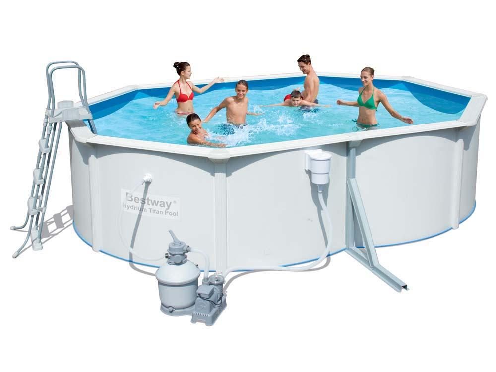 Bien choisir une piscine hors sol acier pas ch re for Piscine acier