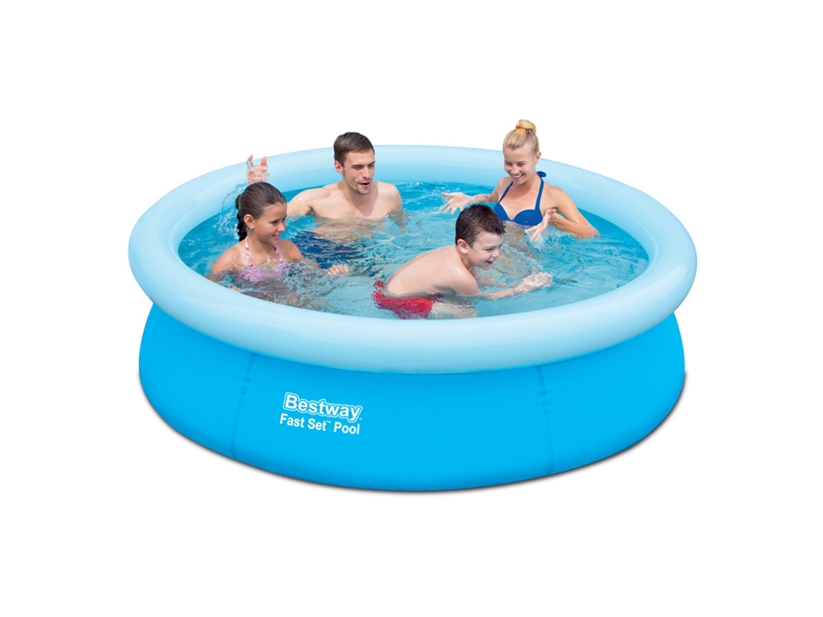 Piscine autoportante ronde x m 78853 for Piscina autoportante