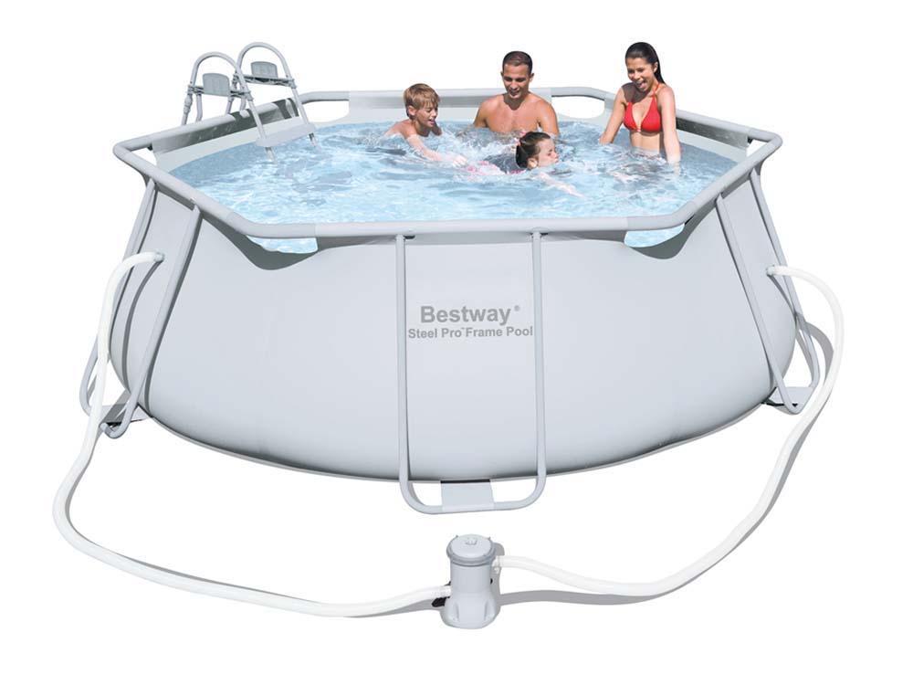 piscine tubulaire ronde x m 66335. Black Bedroom Furniture Sets. Home Design Ideas
