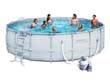 "Piscine tubulaire ronde ""Power Steel Frame Pools ""- 5.49 x 1.32 m"