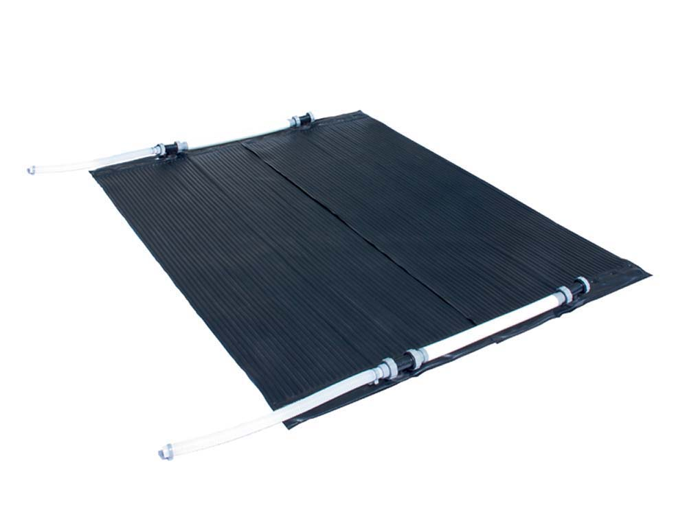 Panneaux solaires piscine 15 2 m2 48 m3 d 39 eau 66346 66713 for Panneau solaire piscine