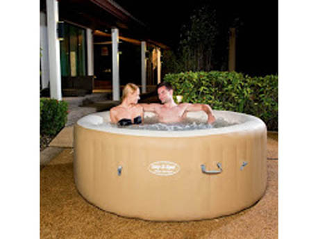 Spa gonflable lay z spa palm springs 4 6 personnes - Spa gonflable 2 personnes ...