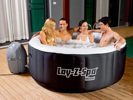 """Spa gonflable """" Lay-z Spa Miami - 2/4 places"""