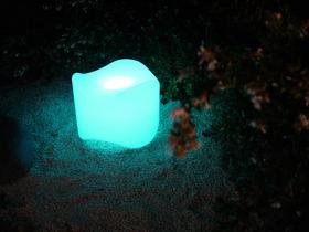 Pouf luminaire