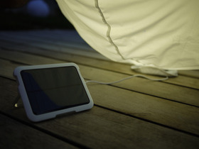 Chargeur solaire pour luminaire
