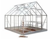"Serre verre ""Universal 108"" - 8.3 m² - 3.22 x 2.57 x 2.4 m"