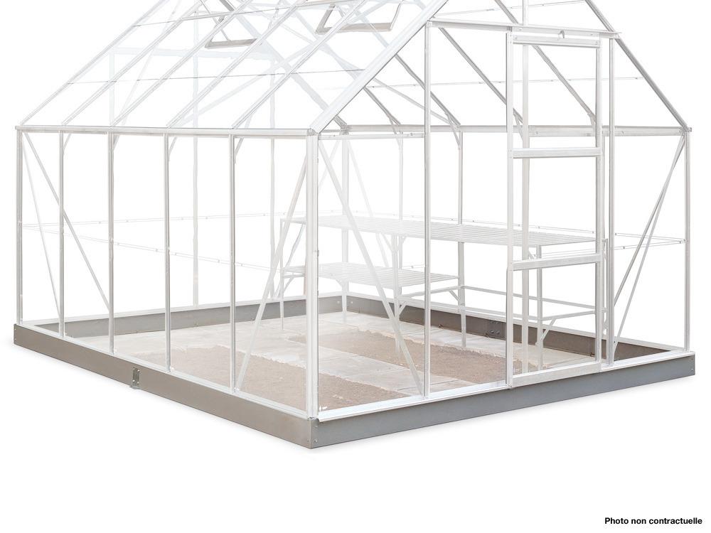 Embase pour serre Popular 106 - 6.2 m²