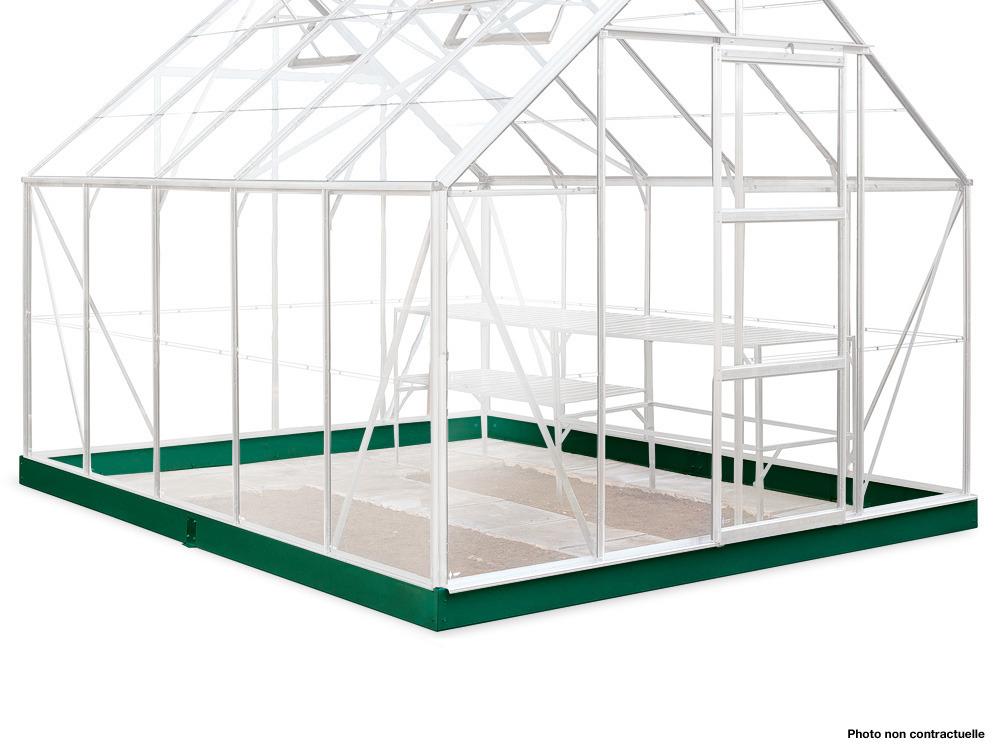Embase pour serre Supreme 108 - 8.2 m²