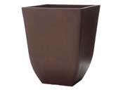 """Pot carré """"Chili"""" 29 x 29 ×36 cm.  - Cèdre"""