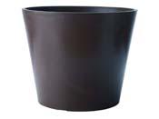 "Pot rond ""Amsterdam"" Ø 60 × 49 cm. - Ardoise"
