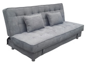 "Banquette ""Hugo"" - 3 places - Gris"
