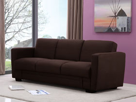 Canap convertible alexia 3 places taupe 69679 80632 - Taille clic clac standard ...