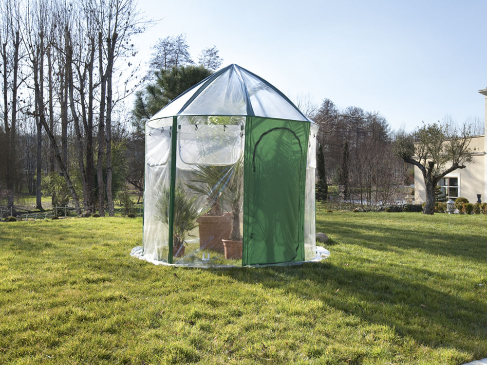 serre d 39 hivernage winterhouse h 2 90 m x diam 2 50 m 50350. Black Bedroom Furniture Sets. Home Design Ideas